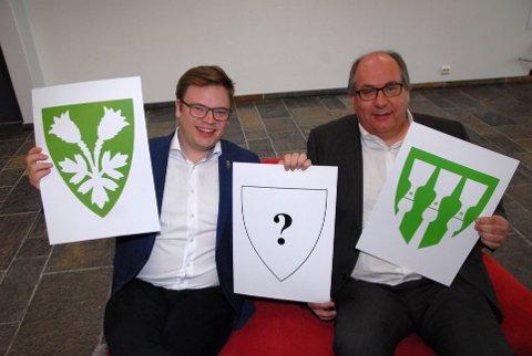 Fylkesordfører Hagen (t.v.) og fylkesrådsleder Sveen.