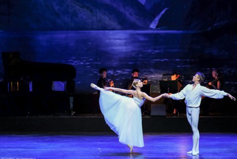 Solveigs dans med Filippa Vik og Oleksii Kniazkov