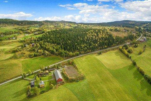 Høge prisar: Stadig fleire gardsbruk i Oppland blir selde til høg pris. Dette er bildet av Skrutvold gard i Skrautvål som hausten 2018 vart lagd ut for sal. Foreslått pris var 7,0 millionar kroner.