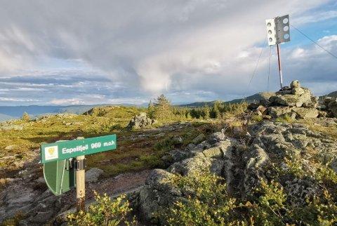 Espelifjellet: I dette området har det vært friluftsliv i flere generasjoner, og det er også nært et hytteområde på Ølslykkja.