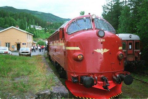 Jernbanen i Valdres er ein del av kulturhistoria vår, meiner Bjørn Karsrud i Nye Valdresbanen. Illustrasjonsfoto