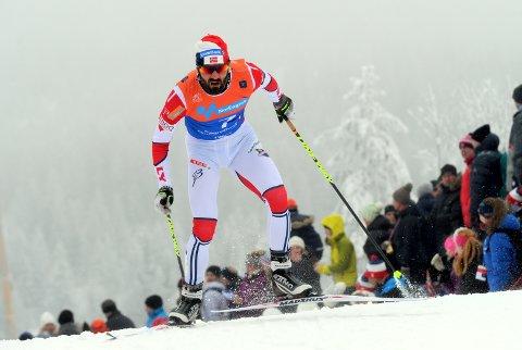 Langrenn ski nm Hans Christer Holund