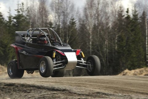 Petter Fjelstad kom aldri til mål under NM-runden på Bjorli motorsenter.