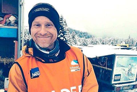 Jean Philippe Pontier fra Hodalen vant Mush Synnfjell 2017. Her er han etter en annen triumf, nemlig seieren i La Grande Odyssée i 2014.