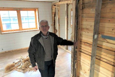 GIR SEG IKKE: 85-åringen Torgeir Hagen har nye leilighetsprosjekter på gang.