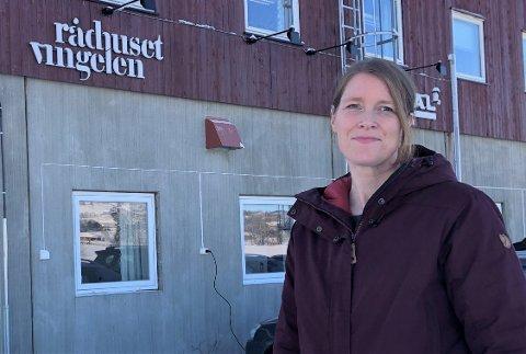 DET LYSNER: Utfordrende tider er i ferd med å snu til noe som ser bedre ut, hevder daglig leder i Rådhuset Vingelen AS, Janne Hamland Schjølberg.
