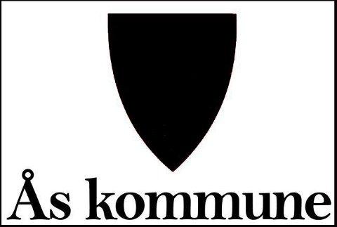Ås SV fikk ikke lov til å bruke kommunevåpene til Ås i kampanjen mot kommunesammenslåing. Da lagde de denne sladdede versjonen.