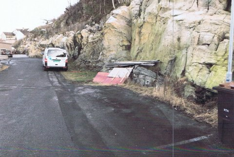 Det var i dette området naboene i Lindknuten ønsker å kjøpe en tilleggstomt fra kommunen. Foto fra saksdokumentene