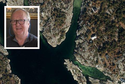 FRYKTER: Harald Pedersen og familien har hytte på Lille Vardøya og håper politikerne tenker seg om før de pålegger potensielle store utgifter til eiendomsskatt på de mange hytteeierne.