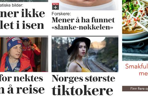 POPULÆR: Henriette Kjørmo fra Flekkefjord har vekket VGs interesse som en av landets mest populære TikTokere.