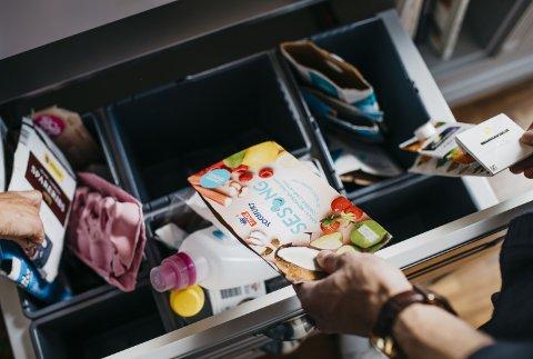 De fleste nordmenn kildesorterer avfallet sitt, men vi er ikke alltid like flinke. Foto: Fartein Rudjord