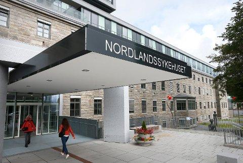Eksteriør builde av Nordlandssykehuset i Bodø