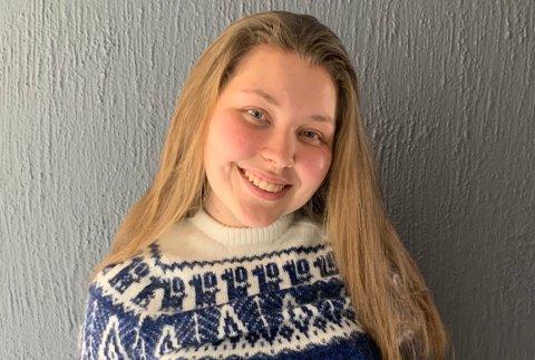VIL HJEM: Andrea Brendeford fra Svolvær håper UD kan sørge for å få henne og 15 andre studenter hjem fra Peru.