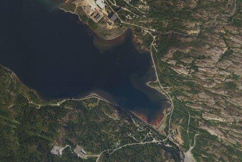 DEPONI: I bukta ved Fagerli i Sulitjelma ønsker Nye Sulitjelma å deponere opp mot 375.000 avgangsmasser i året fra den planlagte gruvedriften i området.