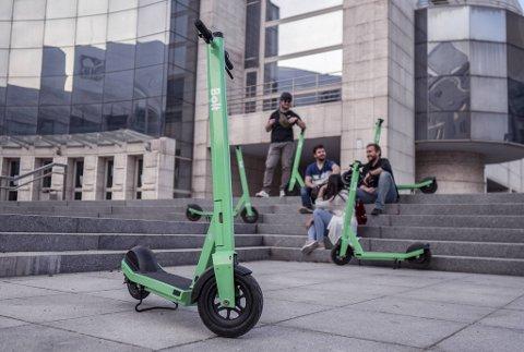 Bolter et estisk transportselskap som opererer i over 150 byer. Nå ønsker de å delta i el-løperhjulprosjektet til Bergen kommune. Doningene deres har samme grønnfarge som Ryde, men er av annen modell.