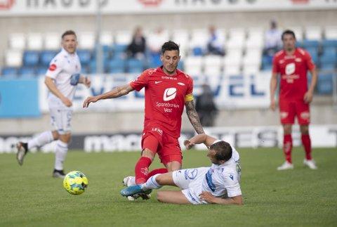 Daniel Pedersens skade skal ikke være av det alvorlige slaget. Branns kaptein kan bli aktuell mot Sarpsborg 08 på torsdag.