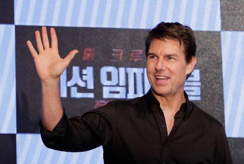 Skuespiller Tom Cruise ønsker å møte statsminister Erna Solberg.