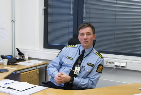 Ronny Andre Øvrebotten, stasjonssjef ved Bergen sør politistasjon, ber foreldre ta en prat med ungdommene sine.