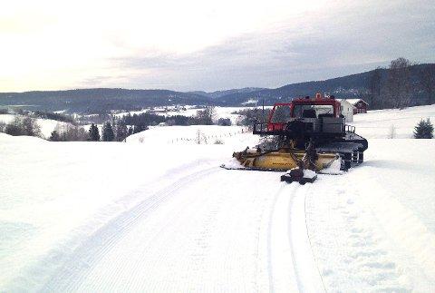 HELHETLIG LØYPENETT: Til vinteren blir det igjen mulig å ta seg fram på ski uavbrutt fra Ormåsen til Holtefjell.