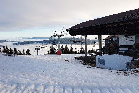 Sesongstart: Onsdag er det klart for rekordtidlig åpning av alpinløypene på Norefjell.