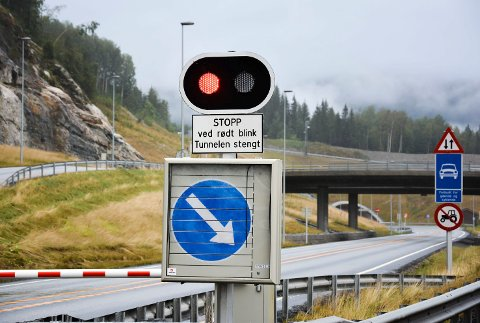 Tunnelene mellom Sokna og Ørgenvika på rv. 7. i Krødsherad.