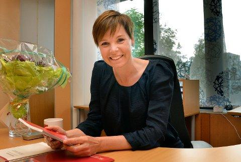 Gjeld: Øvre Eikers rådamnn, Trude Andresen, mener der er realistisk å redusere kommunes gjeldsbyrde betraktelig innen 2019.