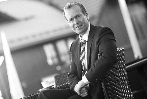 Rekordtall: Administrerende banksjef i Skue Sparebank, Hans Kristian Glesne, kunne onsdag legge fram tidenes beste halvårsresultat for banken.