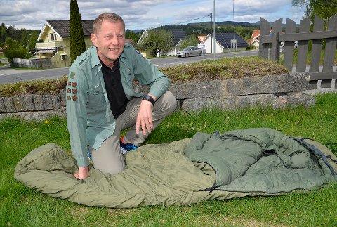 På leder-jakt: Per Buxrud vil gjerne høre fra deg, om du vil bli speiderleder i Åmot speidertropp.