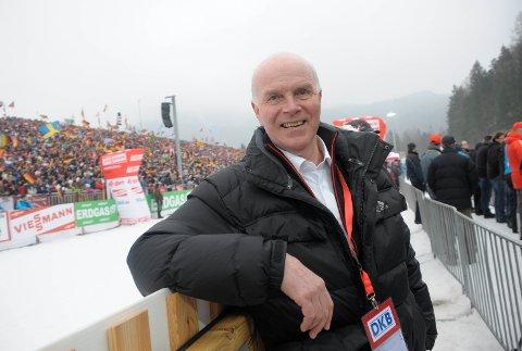 KORRUPSJON: Den avgåtte IBU-presidenten Anders Besseberg, her under VM i skiskyting i Ruhpolding i 2012, blir beskyldt for korrupsjon i en granskingsrapport