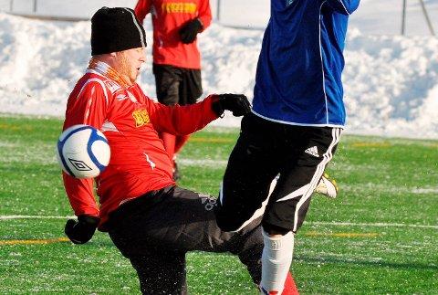 stiller ikke: Sigdal Fotballklubb meldte på seniorlag i 7. divisjon, men i vinter trakk klubben laget igjen.