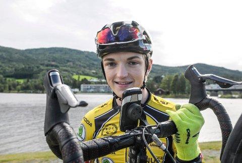 SYKKELULYKKE: Håkon Brathovde Olsen ligger på Ullevål etter en alvorlig sykkelulykke i Norgescupåpningen i Skien søndag.