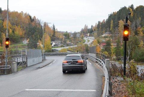 KORKETREKKEREN AVLØSES: Om Viken fylkeskommune får det som de ønsker, skal det bygges ny avkjøring fra rv. 350 mot Sigdal, innen 2033 og Korketrekkeren i Åmot kan pensjoneres som hovedfartsåre til Sigdal.