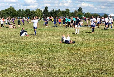 UTSLÅTT: Modums juniorer ble slått ut i 32-delsfinalen mot Eidskog onsdag ettermiddag og Norway Cup er over for i år.
