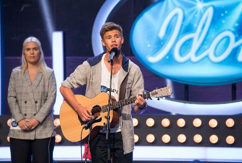 VIDERE IGJEN: Viljar Røysi fra Geithus gikk videre fra første dag av Bootcamp og blir å se på TV i Idol-programmet også fredag kveld.
