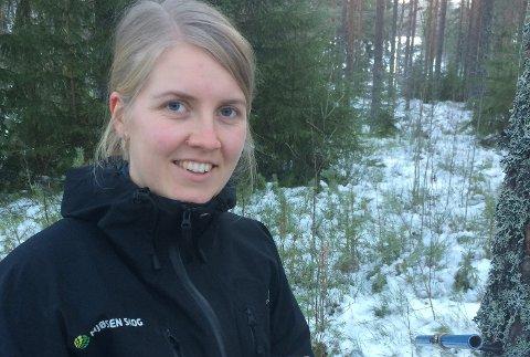 SKOGBRUKSSJEF: Halldis Linde Lie fra Krødsherad er ny skogbrukssjef i Sigdal.