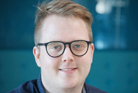 SKAL GI GASS: Det lover Magnus Weggesrud som er valgt til ny leder i Buskerud Senterungdom.