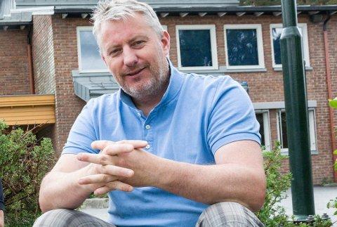 TUNGT VALG: Tom Oddby må konstatere at det ble et tungt valg for Venstre – også i Modum.