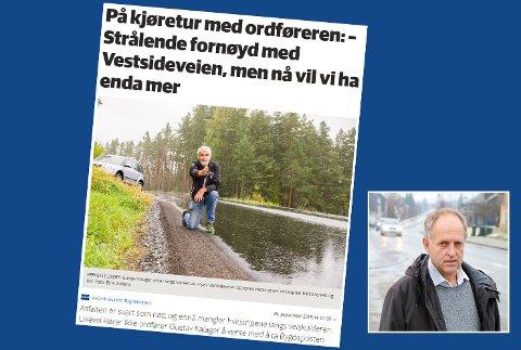 Skjemdump fra bygdeposten.no og Olav Skinnes innfelt