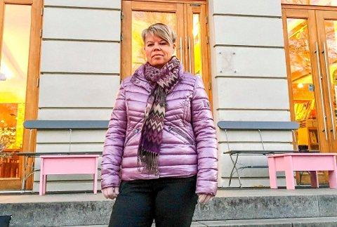 GLAD FOR STØTTEN: Laila O. Brandsgård er glad for støtten hun har fått, etter at hun fortalte om netthets som lokalpolitiker.