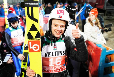 TILBAKE I VERDENSCUPEN: Anders Håre får en ny mulighet til å hoppe blant de aller beste fordi han hoppet så bra under COC-rennene i Planica.