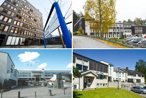 KOMMUNE-NM: De fire lokale kommunene får noe varierende plasseringer i NHOs Kommune-NM.