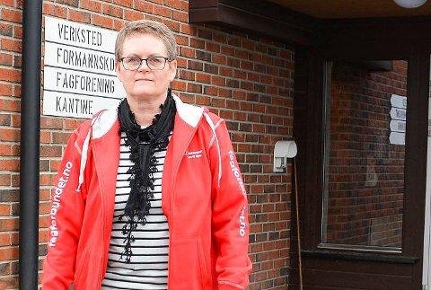 STREIK: Leder Anne Warhuus i Fagforbundet i Modum og Sigdal, sender 36 kommuneansatte ut i streik fra torsdag hvis det ikke blir enighet i lønnsoppgjøret.