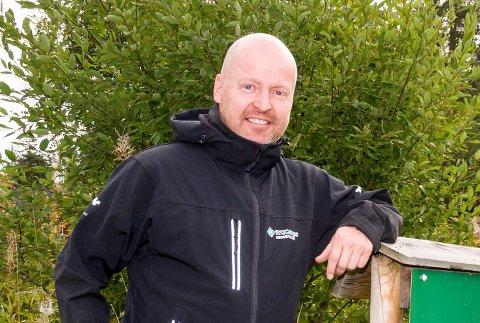 DAGLIG LEDER: Jan Vegard Brenna blir daglig leder for nystartede Holo Panorama med adresse i Åmot.
