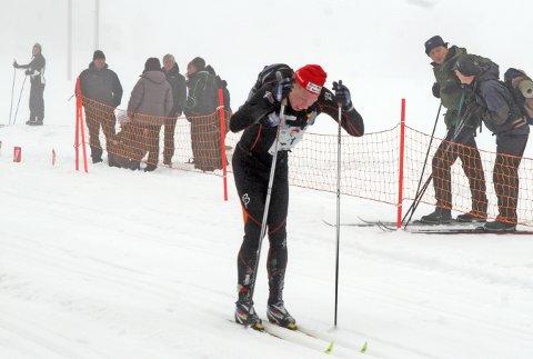 Jan Erik Grude på vei mot mål og tiendeplass totalt i Sesilåmi 2011.