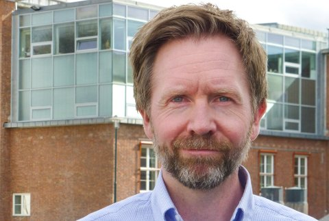 ENDRINGER: Chris Carlsen startet som distriktsredaktør i NRK Buskerud i april 2017. Denne våren blir det endringer i ledergruppa, ettersom kontoret i Drammen slår seg sammen med flere til en felles plattform for Oslo og Viken.