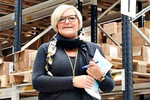 Tina Nyeman, daglig leder og styreleder i Eye Factory AS.