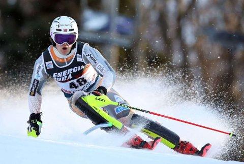 Lucas Braathen (19) fra Hokksund har etablert seg i alpinverdenstoppen. Foto: NTB Scanpix