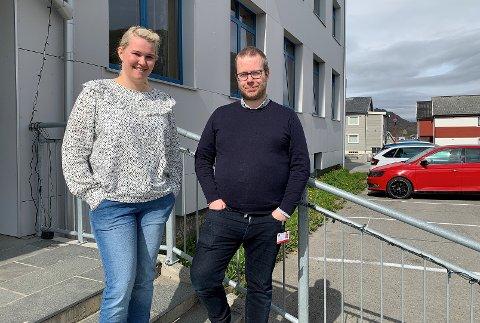 ØNSKER Å BLI KLAR TIL FESTIVAL: Christine Gamst Vitikka og Steffen Ditløvsen ønsker innspill fra folket.