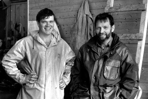 Alex og Inge Vassbotten- 1988- to år etter oppstarten.