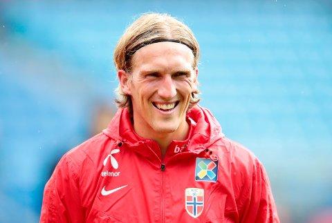 AKTUELL: Per-Egil Flo (32) står på ønskelista til Sogndal Fotball i jakta på ny venstre vingback. Stryningen spelar for tida i den sveitsiske klubben FC Lausanne-Sport.